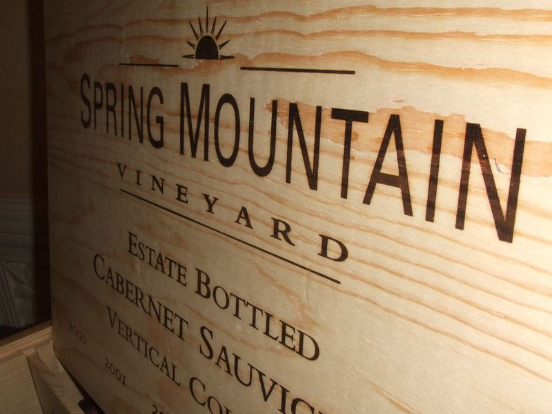 Spring Mountain would be a great vineyard for a super 8 wedding