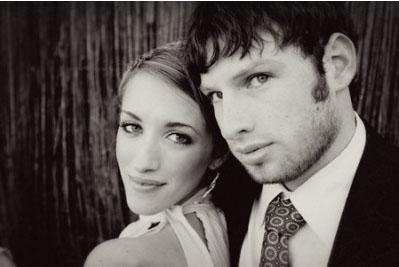 Super 8 wedding couple Brianna and Matt